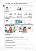 Körperteile und Befinden - Üben und Anwenden des Wortschatzes Preview 9