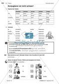 Verben im Präsens - Einführung der Grammatik Preview 3