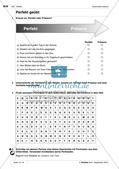 Verben im Perfekt - Übungen und Anwendung Preview 6