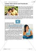 Familie, Freunde und Beziehungen - Übungen und Anwendungen Preview 9