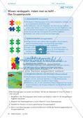 Die Methode Gruppenpuzzle am Beispiel der Einheit zum Thema
