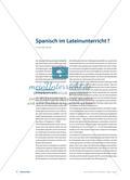 Spanisch im Lateinunterricht Preview 1