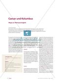Caesar und Kolumbus - Wege zur Mehrsprachigkeit Preview 1