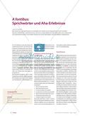 A fontibus: Sprichwörter Preview 1