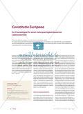 Constitutio Europaea - Mehrsprachigkeitsbasierter Lateinunterricht Preview 1