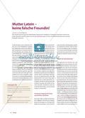 Mutter Latein – keine falsche Freundin Preview 1