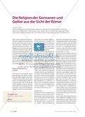 Die Religion der Germanen und Gallier aus der Sicht der Römer Preview 1