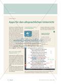 Apps für den altsprachlichen Unterricht Preview 1