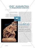 """""""Flucht"""": ein aktuelles Thema im altsprachlichen Unterricht Preview 1"""