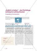 Das Flüchtlingsschicksal in Lehrbuchtexten: Anregungen zur Textinterpretation Preview 1