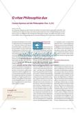 Ciceros Hymnus auf die Philosophie Preview 1