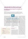 Ovid's Liebesbriefe: ein Vergleich ihrer inhaltlichen und formalen Kriterien Preview 1