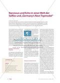 """Ovid: Narcissus und Echo in einer Welt der Selfies und """"Germany's Next Topmodel"""" Preview 1"""