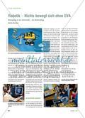 Robotik – Nichts bewegt sich ohne EVA: Bewegung in der Informatik – ein Materialtipp Preview 1