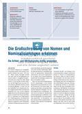 Die Großschreibung von Nomen und Nominalisierungen erkennen - Die Artikel- und Attributsprobe richtig anwenden Preview 1