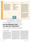 """""""Soll Opa Steinmann noch ein neues Herz bekommen?"""" - Mithilfe eines Planspiels eine Dilemma-Situation diskutieren Preview 1"""