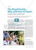 The Royal Family: Why and How to Teach - Das britische Könighaus im Englischunterricht Preview 1