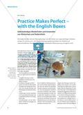 Practice Makes Perfect – with the English Boxes: Selbstständiges Wiederholen und Anwenden von Wortschatz und Redemitteln Preview 1