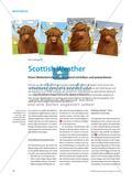 Scottish Weather - Einen Wetterbericht für Schottland schreiben und präsentieren Preview 1