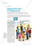 Happy New Year – It's Hogmanay!: Hogmanay feiern in der ersten Englischstunde im neuen Jahr Preview 1
