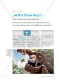 Let the Show Begin! - Filme im Englischunterricht der Grundschule Preview 1