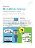 Short & Simple: Tutorials - Erklärvideos im Englischunterricht der Grundschule Preview 1
