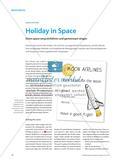 Holiday in Space - Einen space song einführen und gemeinsam singen Preview 1