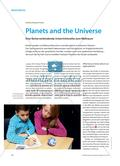 Planets and the Universe - Eine fächerverbindende Unterrichtsreihe zum Weltraum Preview 1