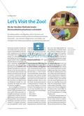 Let's Visit the Zoo! - Mit der Storyline-Methode kreativ Kommunikationssituationen entwickeln Preview 1