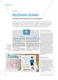 My Dream School - Die eigene Traumschule in einem Flyer präsentieren Preview 1