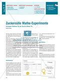 Zuckersüße Mathe-Experimente - Schnupper-Stationen für den Tag der offenen Tür Preview 1
