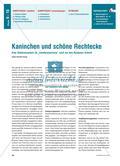 """Kaninchen und schöne Rechtecke - Eine Stationenarbeit im """"Sandwichprinzip"""" rund um den Goldenen Schnitt Preview 1"""