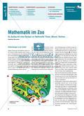 Mathematik im Zoo - Ein Ausflug mit vielen Bezügen zur Mathematik: Planen, Messen, Rechnen, … Preview 1