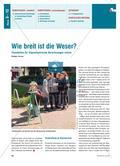 Wie breit ist die Weser? - Theodoliten für trigonometrische Berechnungen nutzen Preview 1