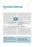 Multimediale Matherallye Preview 1