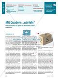 """Mit Quadern """"würfeln"""" - Wahrscheinlichkeit als Modell der Wirklichkeit erleben Preview 1"""