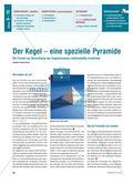 Der Kegel – eine spezielle Pyramide: Die Formel zur Berechnung des Kegelvolumens selbstständig erarbeiten Preview 1