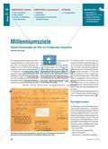 Millenniumsziele - Globale Entwicklungen mit Hilfe von Trendgeraden beobachten Preview 1