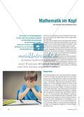 Mathematik im Kopf Preview 1