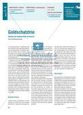 Goldschatztrio - Spielerisch Kopfrechnen trainieren Preview 1