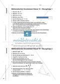 Regelmäßig wieder - Durch vermischte Kopfübungen mathematisches Grundwissen trainieren Preview 3