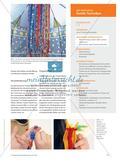 Stricken für ein Sinneszelt - Textiles Gestalten zur Förderung der Feinmotorik und der Sinne Preview 2