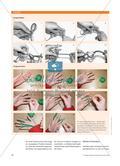 Stricken für ein Sinneszelt - Textiles Gestalten zur Förderung der Feinmotorik und der Sinne Preview 3