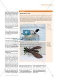 Eine Blauflügelige Sandschrecke ist mein Traum … - Zarte Wesen aus Draht und Verpackungsmaterialien Preview 4