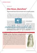 """Die Hexe """"Banshee"""" - Experimentelle Klaviermusik mit Kindern hören und selbst gestalten Preview 1"""