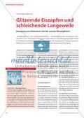 """Glitzernde Eiszapfen und schleichende Langeweile - Bewegung zum Bilderbuch """"Der Bär und das Wörterglitzern"""" Preview 1"""