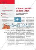 """Andere Länder – andere Sitten: Das Bilderbuch """"Paulas Reisen"""" singend erschließen Preview 1"""