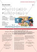 Alle Jahre wieder - Ein Adventslied als Sing- und Mitspielstück im Musikunterricht Preview 4