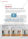 Break it! - Mädchen und Jungen tanzen Breakdance in der Grundschule Preview 1