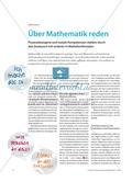 Über Mathematik reden - Prozessbezogene und soziale Kompetenzen stärken durch den Austausch mit anderen in Mathekonferenzen Preview 1